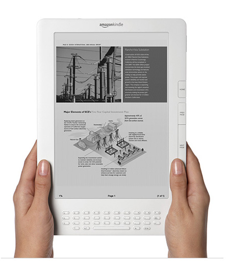 Amazon Kindle DX now in Canada - $489 US plus import fees