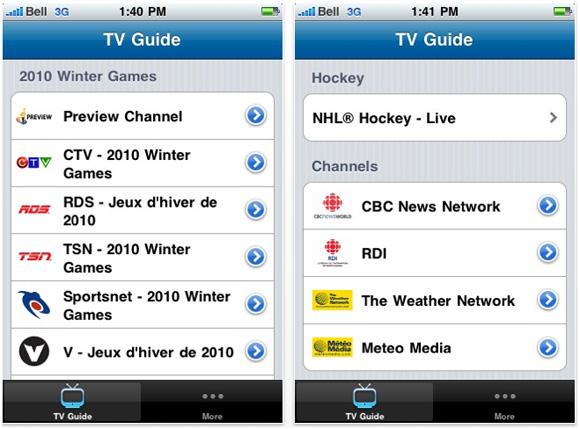 mobili tv belli : bell_mobile_tv_app - Digital Home : Digital Home