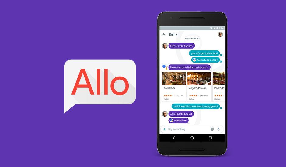 Google assistant-Allo