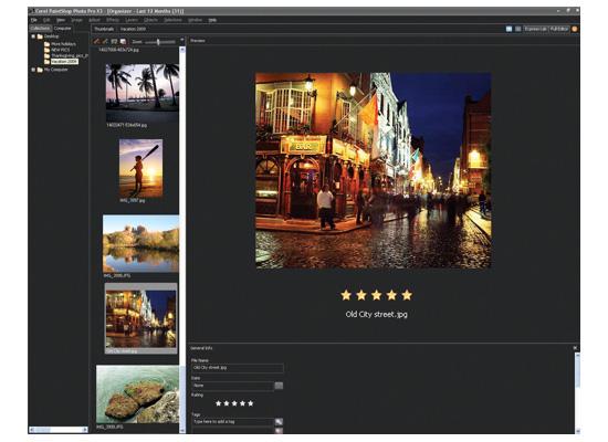 Paintshop Pro X3 Organizer