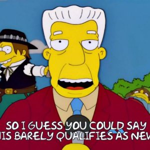 Kent Brockman from The Simpsons
